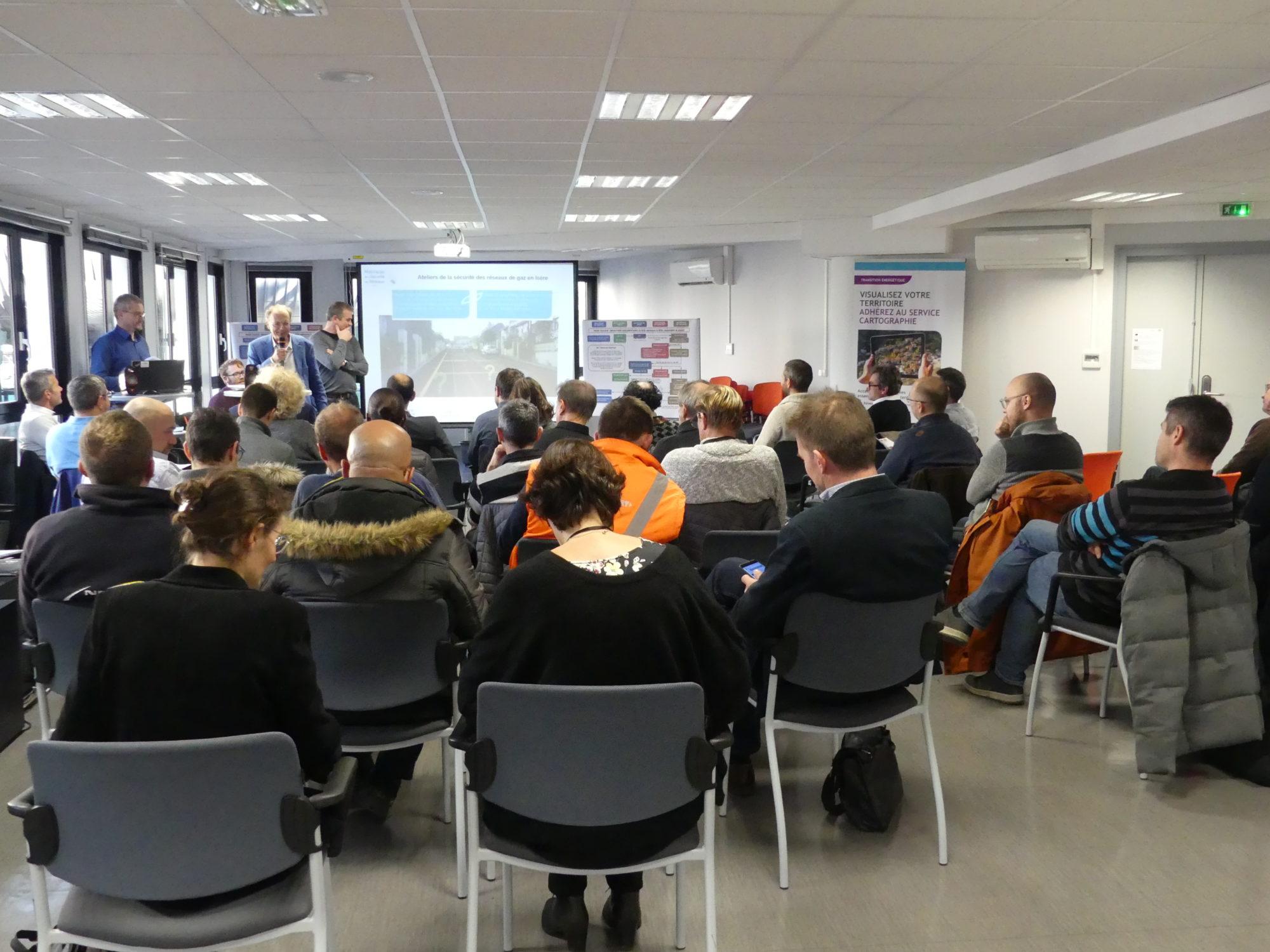 Deux ateliers pour promouvoir la sécurité des réseaux de gaz en Isère