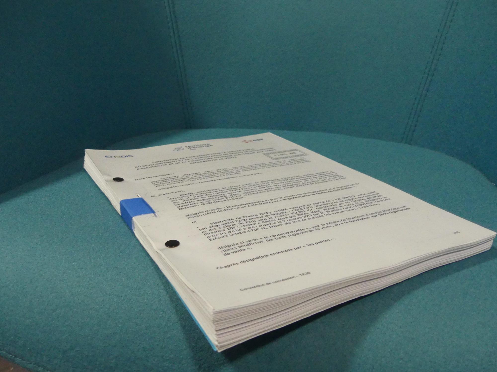 Le nouveau contrat de concession électricité
