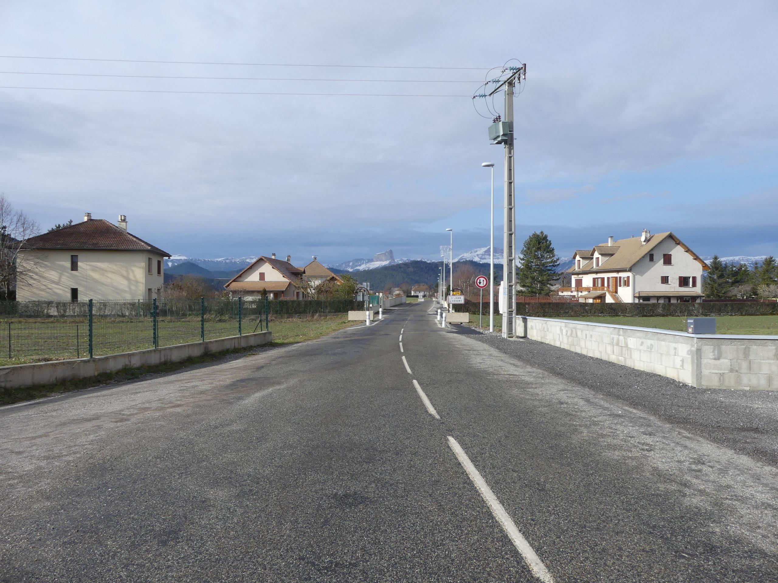 Deux chantiers terminés dans le secteur du Trièves