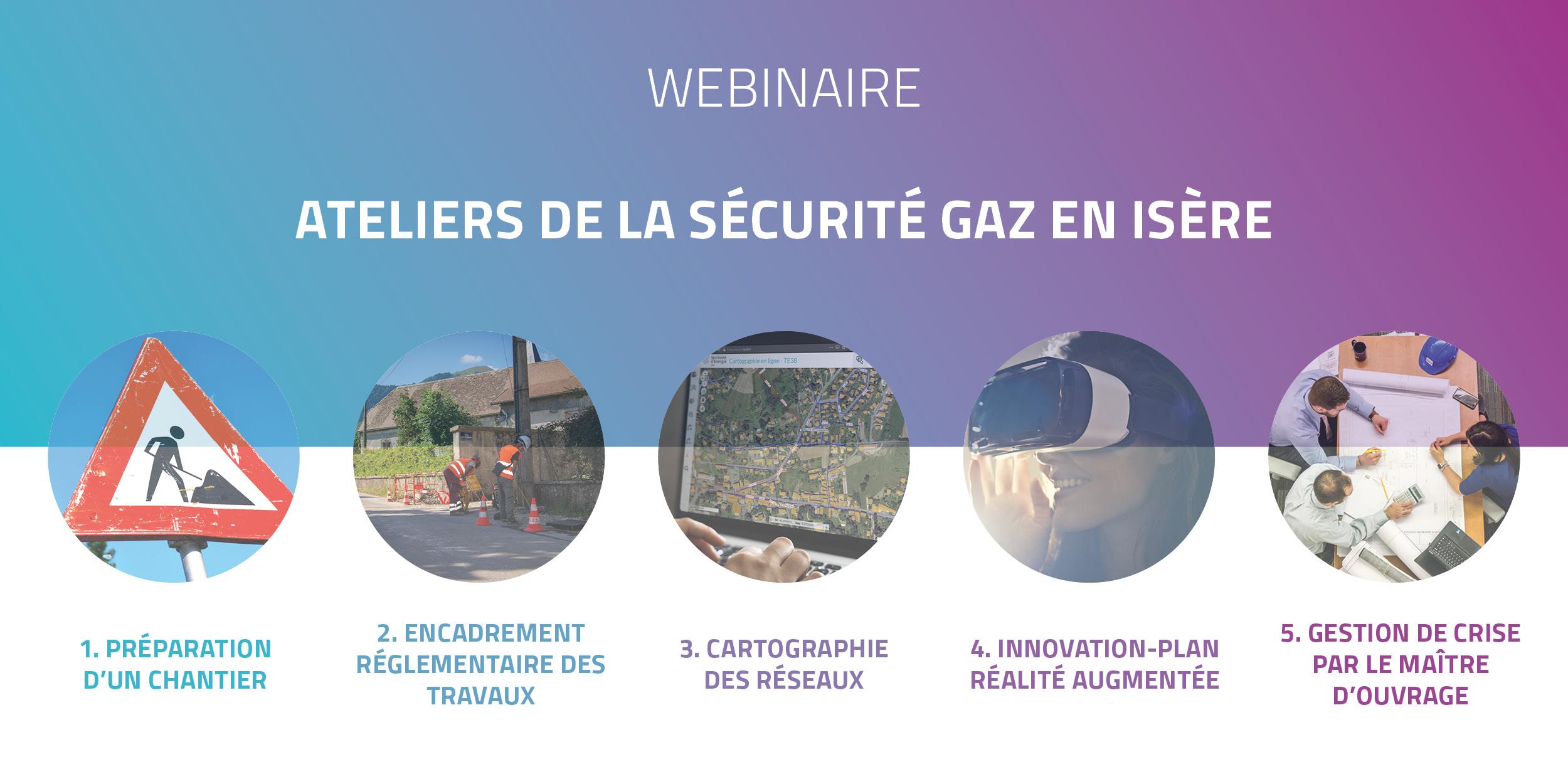 Webinaire : Ateliers de la sécurité gaz en Isère