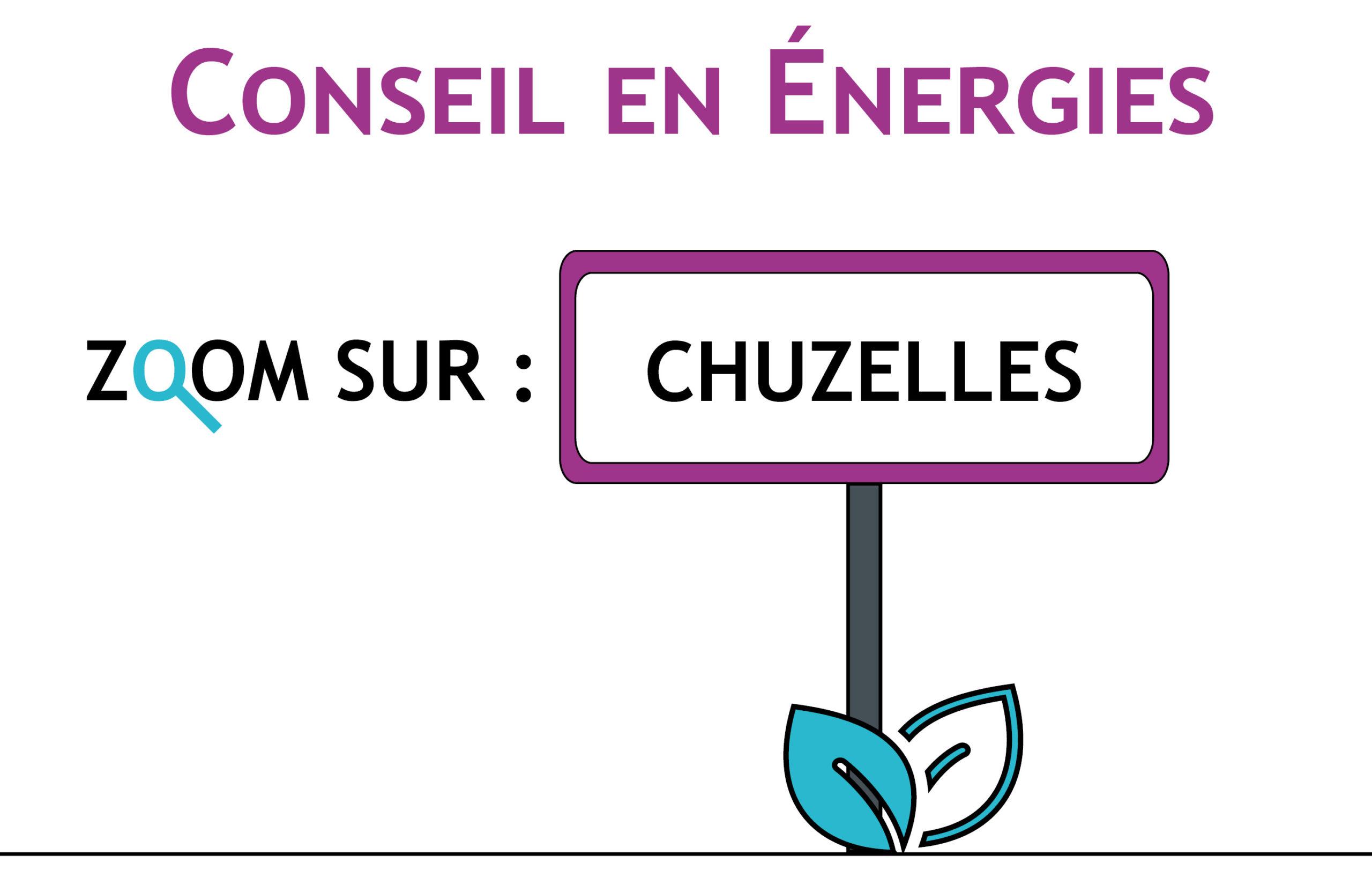 Exemple d'actions d'économies d'énergies : Chuzelles