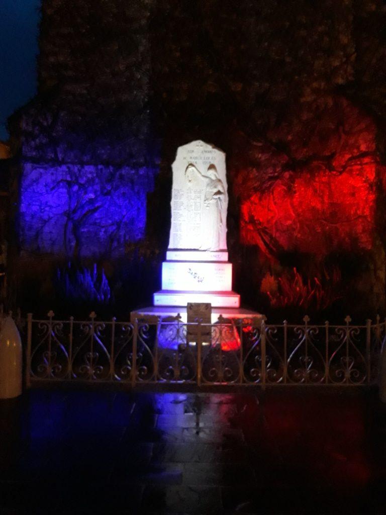MLA monument aux morts Marcilloles